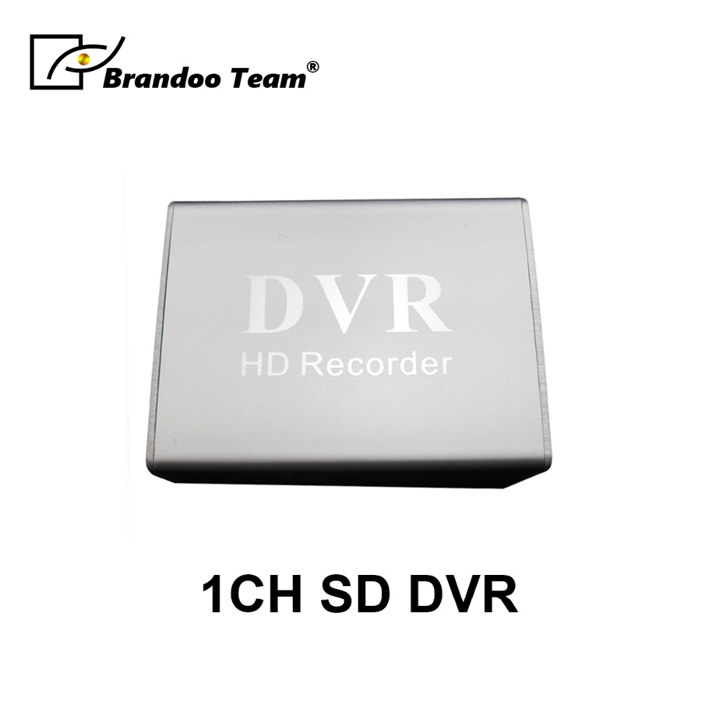 1 Channel CCTV DVR SD Mini Video Recorder For Analog Camera Home Office Security System
