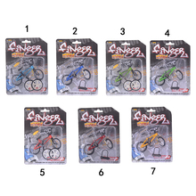 Mini Finger BMX Bicycle Flick Trix Finger Bikes Toys BMX Bicycle Model Bike Tech Deck Gadgets Novelty Gag Toys 10.5cm*7cm mini finger bmx bicycle flick trix finger bikes toys bmx bicycle model bike tech deck gadgets novelty gag toys for kids gifts
