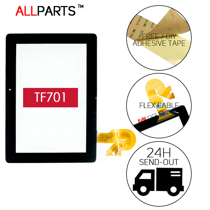 TESTED 10.1 inch NEW Touch Screen For ASUS Transformer Pad TF701 Touch screen Digitizer K00C TF701 5449N FPC-1 Free Adhesive