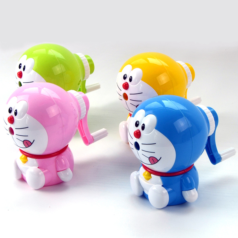 Cartoon stationery student creative hand pencil sharpener Korean cute pencils sharpeners student school supplies gift prize the student stationery wholesale prize korean cartoon eraser skateboard 35 pcs set 5 5 2 0 5cm multicolor