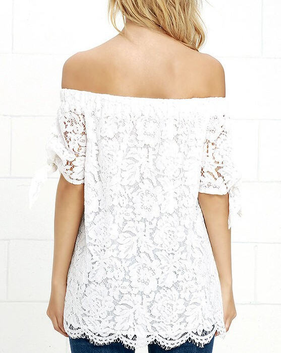 HTB10na4JVXXXXcFXVXXq6xXFXXXH - Women Blouses Lace Crochet Shirts Fashion Summer Sexy Casual