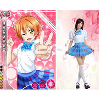 Free Shipping Cheap Japanese Anime Love Live Cosplay Costumes Girls Halloween Party Lovelive School Uniforms Top