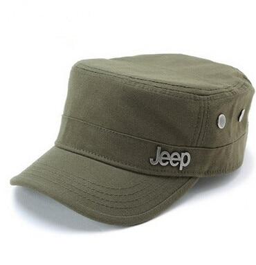 NY 2016 Fashion Flat Roof militär hattar avslappnad solskugga Bush Hat Baseball Field Cap för män kvinnor gorras