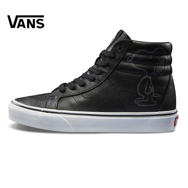 Original New Arrival Vans X PEANUTS Men's & Women's Classic SK8-Hi Skateboarding Shoes Sneakers Canvas Comfortable VN0A2XSBQX5 original new arrival vans x peanuts men s