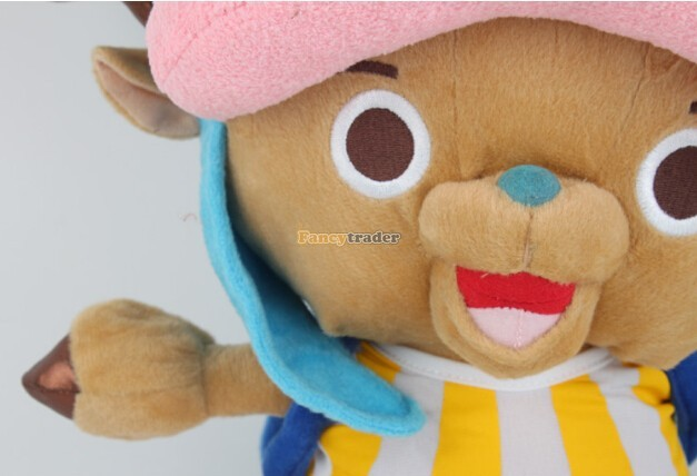 Fancytrader 20\'\' 50cm Plush Stuffed One Piece Tony Tony Chopper Toy, Free Shipping FT90319 (3)