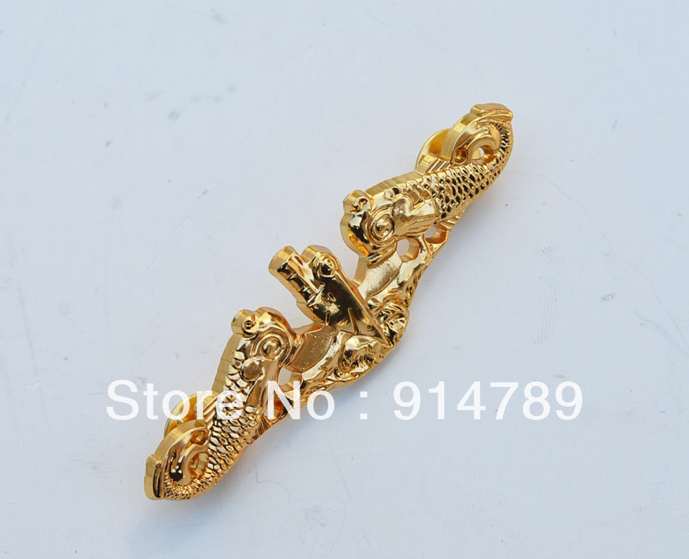 US MILITARY SUBMARINE METAL BADGE PIN GOLD-32791
