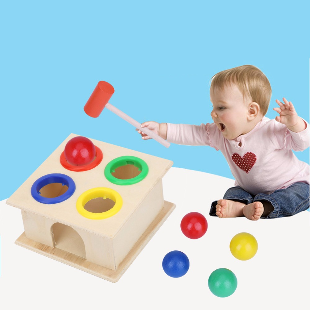 Durable Musical funny Hammer Toddler Sound Educational Toys for Babies