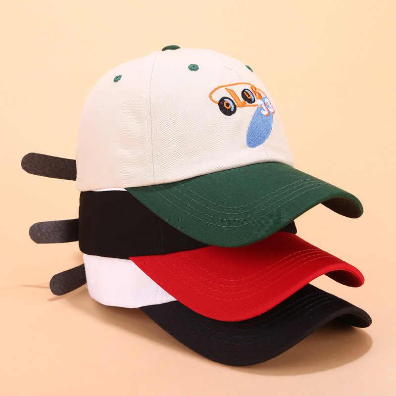 الكرتون نادي الرقمية التطريز قبعة بيسبول أزياء الرجال والنساء قبعة قطنية البرية الصيف ظلة الهيب هوب قبعة snapback بيني