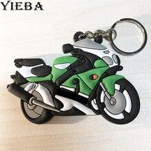 Мотоциклетный брелок, крутой брелок, мягкий резиновый мото брелок, универсальный для KAWASAKI Z800 Z750 Z1000 NINJA 300