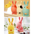 Lovely Cartoon 3D Dog Kids LED Night Light USB Rechargeable Children Study Table Lamp Desk Reading Light 1Pc 4 Colors