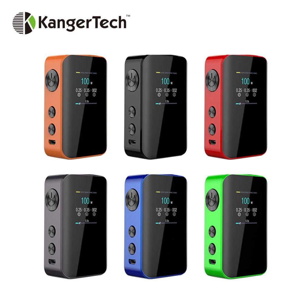 D'origine Kangertech VOLA 100 W TC Boîte Mod avec 2000 mAh Batterie et 1.3-pouces TFT Écran E- cig puissant Vaporisateur Boîte Mod Vs Aegis 100 W