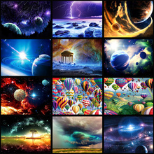 full Diamond Embroidery 5D outer space star pictures FULL DIY Diamond painting cross stitch diamond mosaic decoration GIFTs