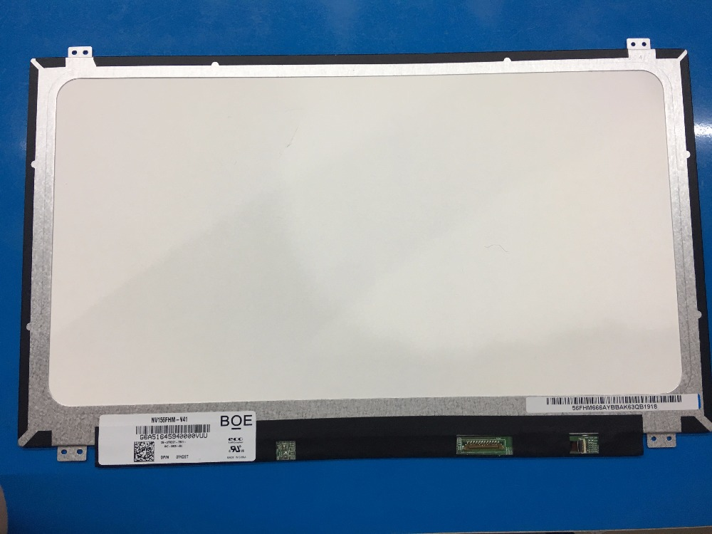 15.6 inch LED LCD Screen NV156FHM-N41 For DELL INSPIRON 15 3567 3558 7537 Latitude E3570 FHD 1920X1080 IPS Non-touch Display