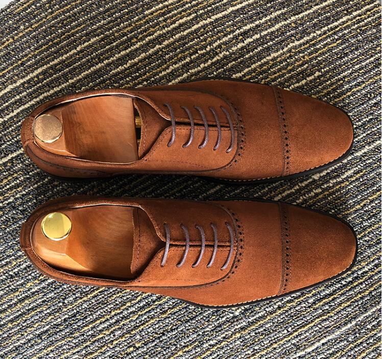 Handmade dress shoes men customize