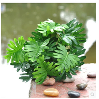 New Arrival Green Artificial Plants Spring Taro Leaves Countryside Garden Decoration MA2104