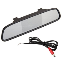4 3 TFT LCD Display Monitor Rearview Mirror Rearview Mirror AUTO CAR DVD AV