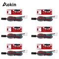 Концевой выключатель для Arduino, 1/3/6 шт., концевой выключатель + кабель, высококачественный механический торцевой переключатель для 3D-принтера...