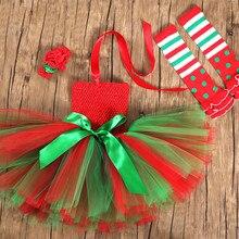 Рождественское платье эльфа; Новогодняя юбка-пачка для маленьких девочек; Детский карнавальный костюм для рождественской вечеринки; платье принцессы для представления