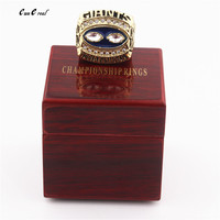 Fast Delivery 1990 New York Giant Super Bowl World Champion Replica And Ring Wooden Box Men