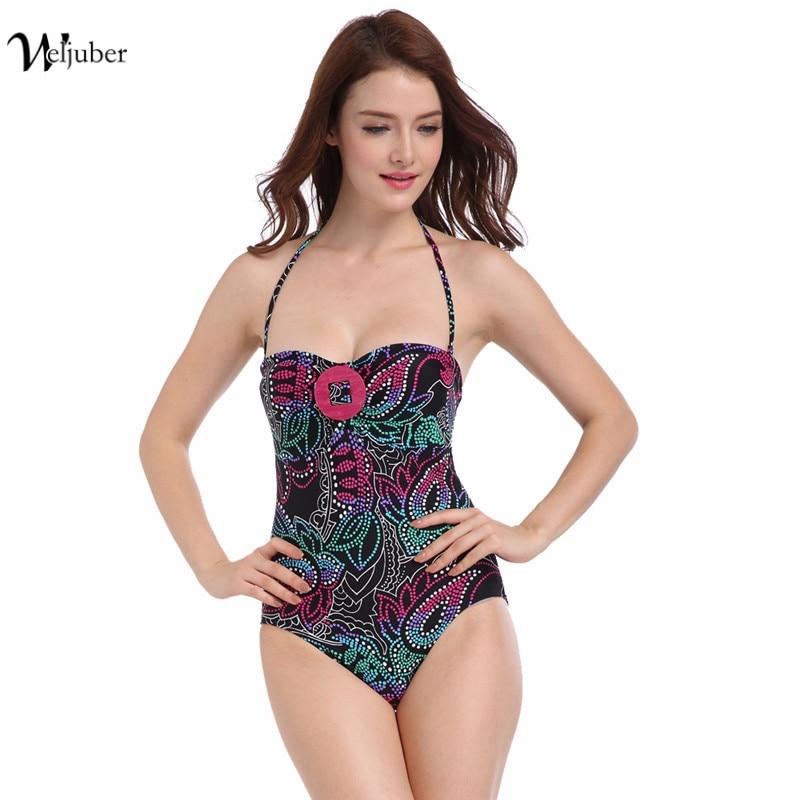 2017 New One Piece Swimsuit Plus Size Monokini Swimsuit High Quality Sexy Swimwear Women Bathing Suit Swim Beach Wear Beachwear