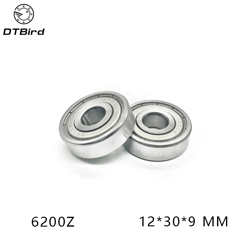 10pcs 6200 2z 10x30x9mm Miniature deep groove ball bearing 6200ZZ 10*30*9 mm thrust bearing factory direct sale 6306 6306zz 6306z 6306 2z 80306 30 72 19 mm high quality deep groove ball bearing 2pcs lot