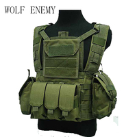 Outdoor Tactical Airsoft Molle Canteen Hydration Combat RRV Water Bag Vest Sand Black MC Olive Drab