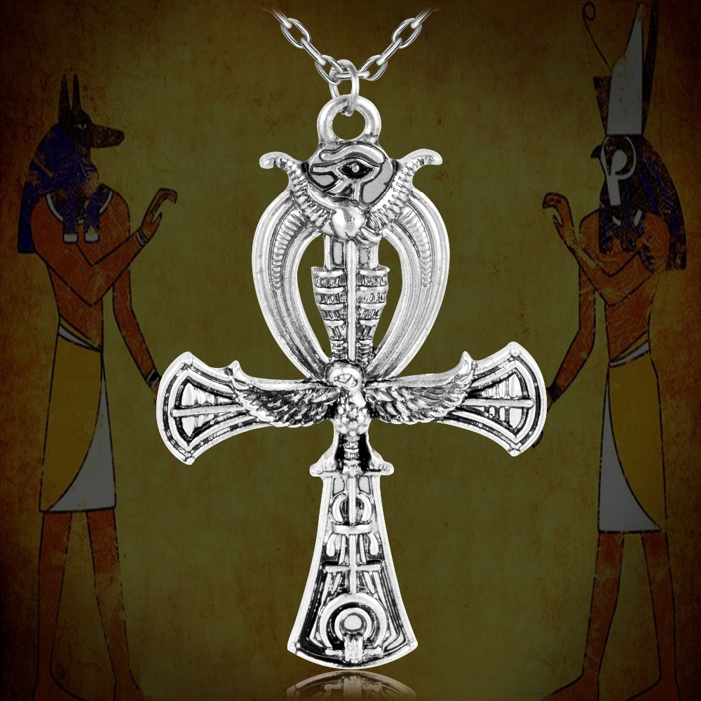 2016 new punk jewerly giant ankh egyptian horus eye of ra pagan 2016 new punk jewerly giant ankh egyptian horus eye of ra pagan pendant necklace xl645 in pendant necklaces from jewelry accessories on aliexpress biocorpaavc