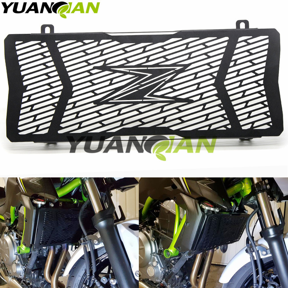 For Kawasaki Z650 Z 650 z650 New Motorcycle Stainless Steel Radiator Grille Guard Protection  For Kawasaki Z650 Z 650 z650 2017 new motorcycle stainless steel radiator grille guard protection for yamaha tmax530 2012 2016