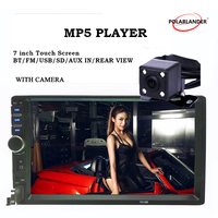 2 Din Car Radio 7 Inch MP5 MP4 Player Bluetooth Auto Stereo Audio USB TF AUX