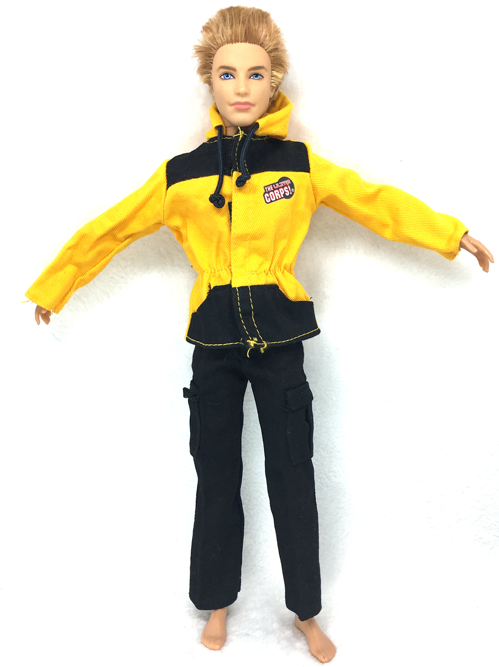 NK Unique Doll Prince Garments Aviator Fight Uniform Jumpsuits  Outfit For Barbie Boy Male  Ken Doll For Lanard  1/6 Soldier