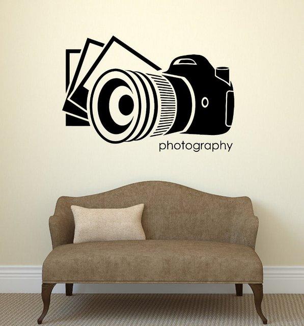 Cinema Vinyl Wall Decal Photo Photography Salon Art Photographer