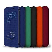 Чехол Dot View услуга smart auto сна до Shell для HTC One A9 мягкий силиконовый Оригинальный флип чехол противоударный чехол Капа для HTC A9