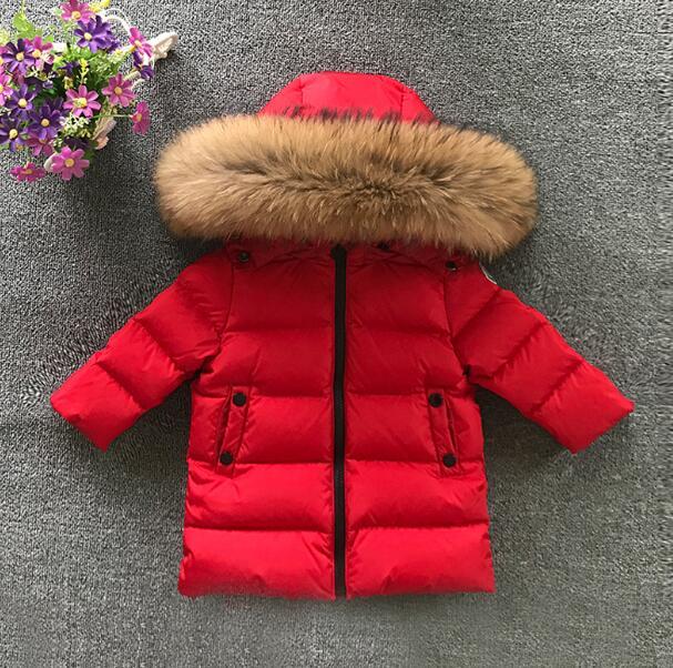 New 2017 Thickened Girls Winter Jackets 2-6T Children Outerwear Winter Coats duck down Coat for Boys parka 4 colour snow wear 2018 brand winter children s duck down outerwear