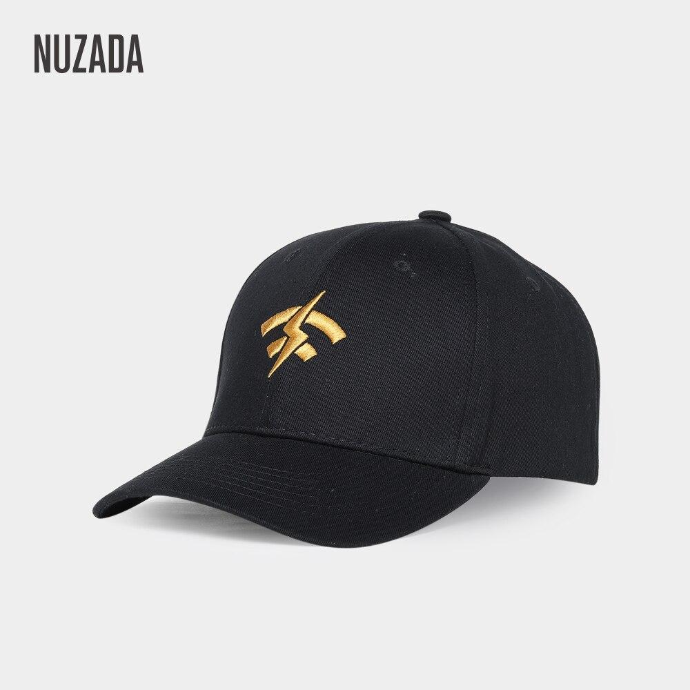 Brand NUZADA Embroidery   Baseball     Cap   For Men Women Double Layer Bone 6 Colors Spring Summer   Caps   Cotton Snapback Cotton Hats