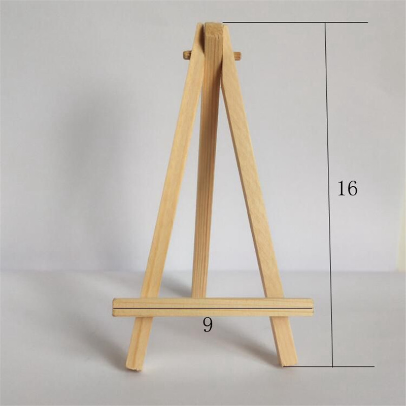 1 Pcs Mini Artist Wooden Easel Wood Wedding Table Card Stand