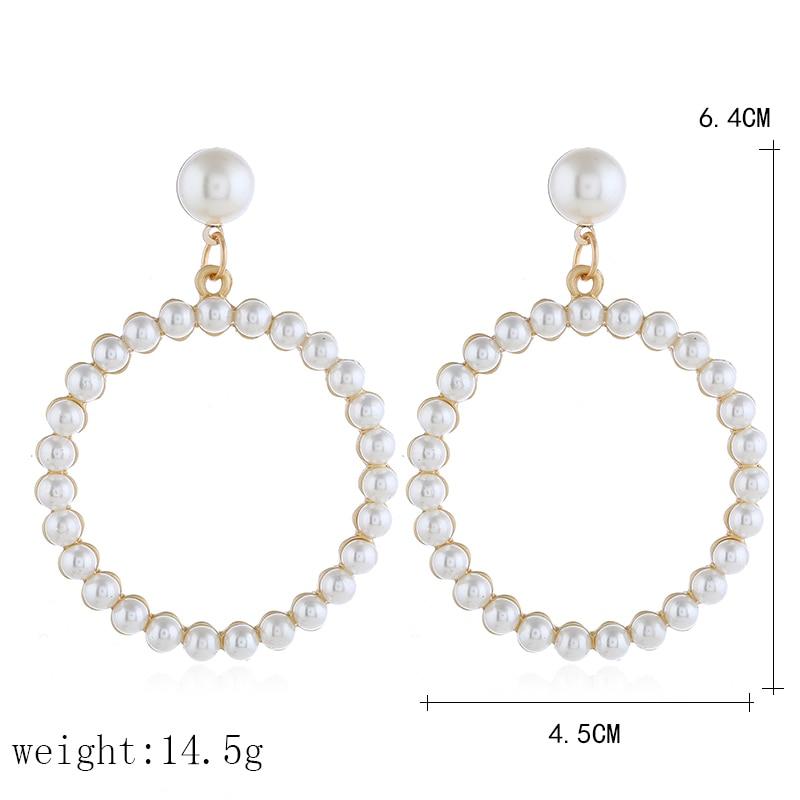 Pearl Drop Earring (2)