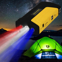New 50800ma Multifunctional Portable Cars Auto Emergency Start Car Jump Starter Power Bank With Three Lights