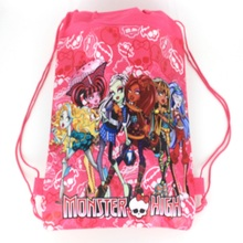 1 pic Ghost woman University school bags kids cartoon backpack drawstring bag & infantile For children bag back to school