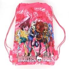 1 pic Ghost woman University school bags kids cartoon backpack drawstring bag & infantile For children bag back to school
