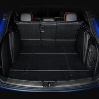 3D полный Крытая без запаха Водонепроницаемый ковры прочный специальный автомобиль магистральные коврики для Hyundai Elantra Акцент Соната Genesis