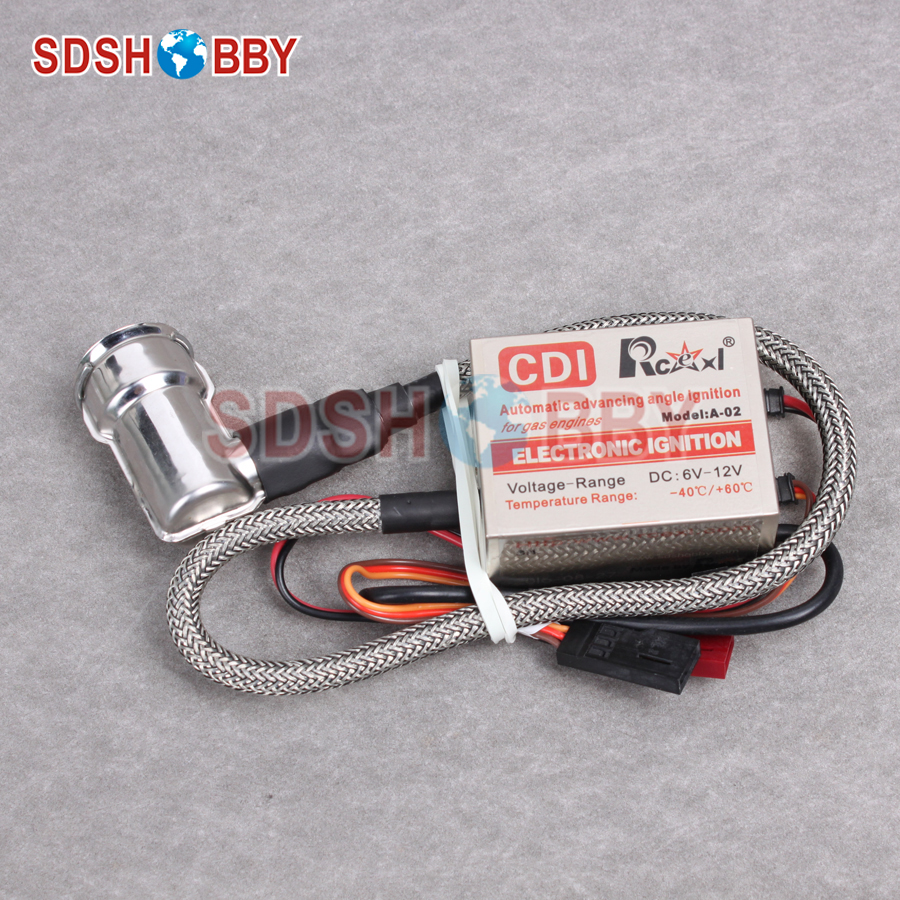 Rcexl Single Ignition for NGK-BMR6A-14MM 90 Degree (A-02 6-12V 622a) ngk br8hs