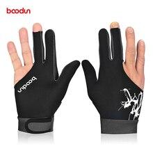 Boodun 1 шт. 3 пальца бильярдные перчатки для бильярда для мужчин и женщин подходят для левой и правой руки бильярдные шутеры перчатки для снукера
