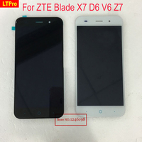LTPro 5.0 inch TOP Quality Full LCD Display Touch Screen Digitizer Panel Assembly For ZTE Blade X7 D6 V6 Z7 Replacement Parts