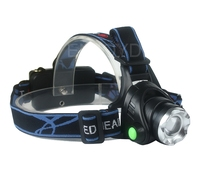 CREE XM L T6 LED 2000 Lumen Adjustable Focus Headlamp Headlight Head Torch For Hot Sale