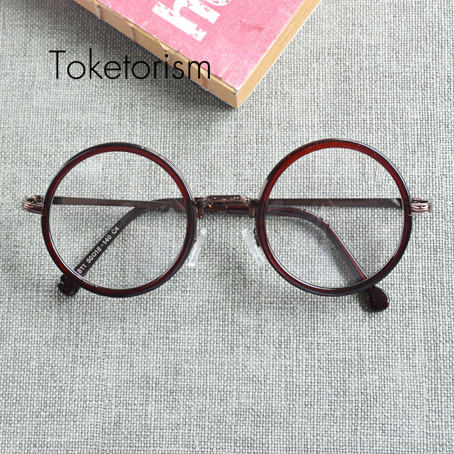 Glasses Frame Trend : Aliexpress.com : Buy Vintage trend men women retro round ...
