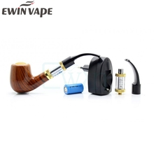 Electronic Cigarette ePipe 618 Kit E pipe 618 Vapor smok with wood 2.5ml Atomizer With 18350 Battery vs e pipe K1000 Guardian
