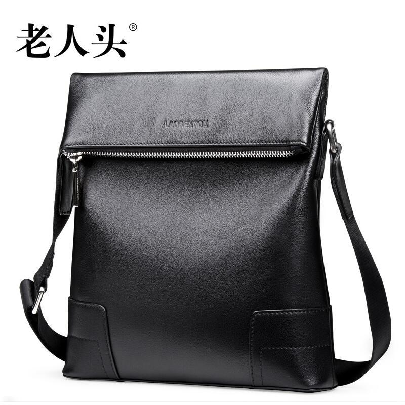 cheap authentic designer handbags 7hwo  LAORENTOU high-quality fashion luxury brand 2017 new men's handbag shoulder  bag genuine authentic,