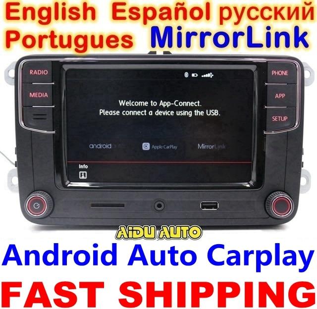 Carplay Android Auto RCD330 R340G Plus Noname Radio RCD340G For VW Tiguan Golf 5 6 MK5