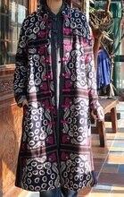 Новые продукты , перечисленные в зимний 2015, Оригинальный дизайн хлопка сыпучих большой ярдов женщин утолщение — хлопка-ватник одежды
