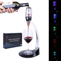 LED יין Aerator קסם לגין דלוקס מתנת סט Aerator יין חיוני Aerator & Tower